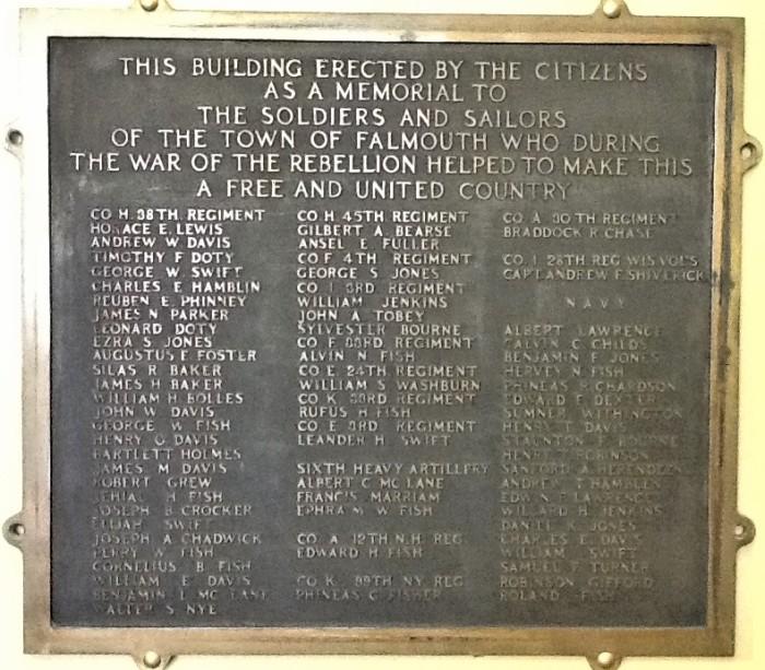 Falmouth plaque